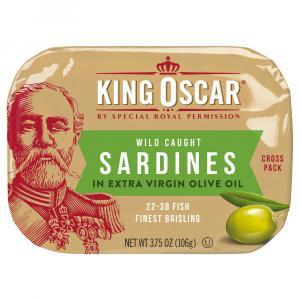 King Oscar Cross Pack Sardines In Extra Virgin Olive Oil
