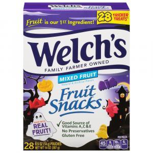 Welch's Mixed Fruit Snacks Halloween