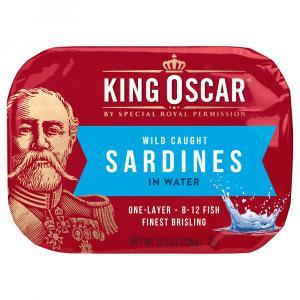 King Oscar Sardines In Extra Virgin Olive Oil Spring Water