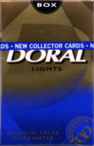 Doral Gold Box Cigarettes