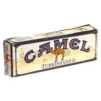 Camel Turkish Gold Box Cigarettes