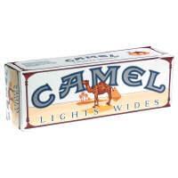 Camel Wide Blue Box Cigarettes
