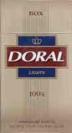 Doral Gold 100's Box Cigarettes