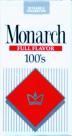 Monarch 100's Red Box Cigarettes