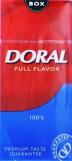 Doral Red 100's Box Cigarettes