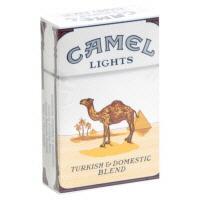 Camel Blue Box Pack Cigarettes