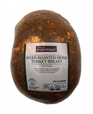 Taste of Inspirations Oven Roasted Herb Turkey Breast