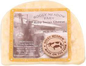 Boggy Meadow Smoked Baby Swiss Cheese