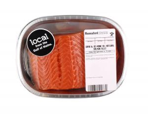 Grab & Go Local Gulf of Maine All Natural Salmon Fillet