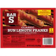 Bar S Classic Bun Length Franks