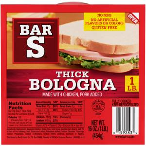 Bar-s Thick Sliced Bologna