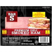 Bar S Oven Premium Deli Smoked Ham
