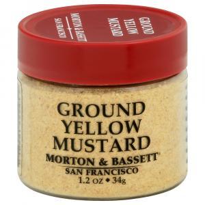 Morton & Bassett Ground Yellow Mustard