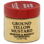 Morton & Bassett Ground Yellow Mustard