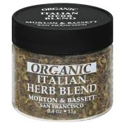 Morton & Bassett Organic Italian Herb Blend