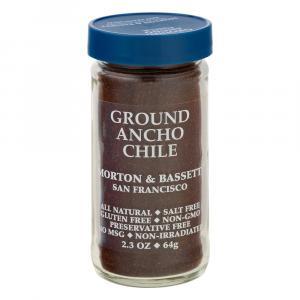 Morton & Bassett Ground Ancho Chile