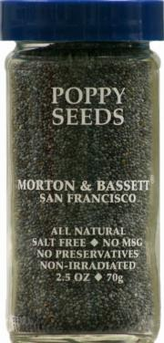 Morton & Bassett Poppy Seeds