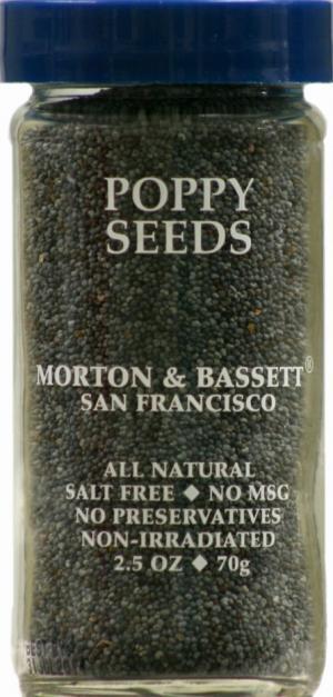 Morton & Bassett Poppy Seeds