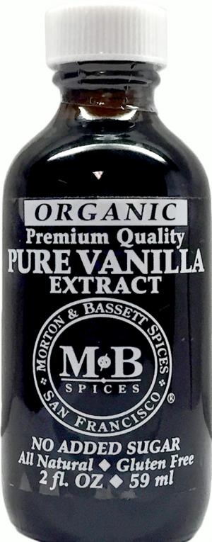 Morton & Bassett Organic Pure Vanilla Extract