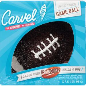 Carvel Football Ice Cream Cake