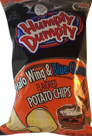 Humpty Dumpty Buffalo Wing & Blue Cheese Potato Chips