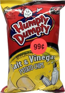 Humpty Dumpty Salt & Vinegar Potato Chips