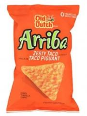 Old Dutch Tortilla Chips Arriba Zesty Taco