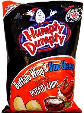 Humpty Dumpty Buffalo Wing & Blue Cheese Potato Chips