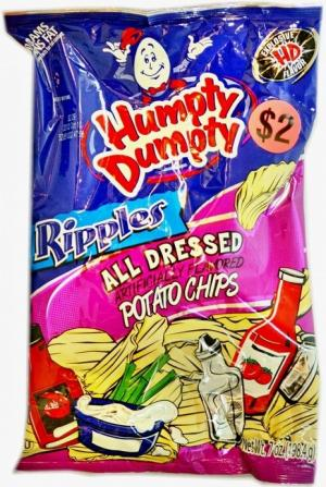 Humpty Dumpty All Dressed Potato Chips