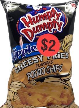 Humpty Dumpty Cheesy Fries Potato Chips