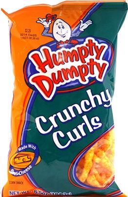 Humpty Dumpty Crunchy Curls