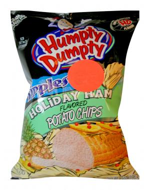 Humpty Dumpty Ripples Holiday Ham Potato Chips