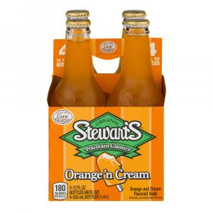 Stewart's Orange & Cream With Real Sugar Soda