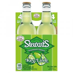 Stewart's Key Lime With Real Sugar Soda