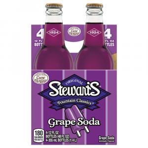 Stewart's Grape with Real Sugar Soda
