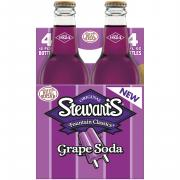 Stewart's Grape with Real Sugar Soda