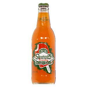 Stewart's Orange Cream Soda