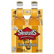 Stewart's Cream Soda with Real Sugar