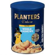 Planters Deluxe Whole Cashews