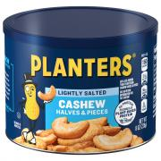 Planters Lightly Salted Cashew Halves