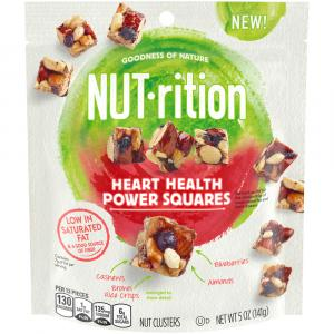 NUT-rition Heart Health Power Squares