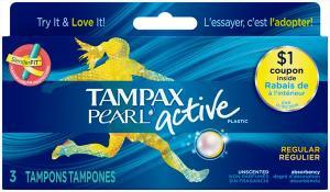 Tampax Pearl Active Regular Tampons