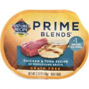 Nature's Recipe Prime Blends Chicken & Tuna Recipe