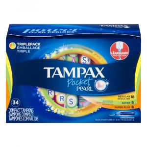 Tampax Pocket Pearl Multi-pack