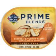 Nature's Recipe Prime Blends Chicken & Turkey Recipe