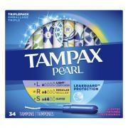 Tampax Pearl Triplepack Scented