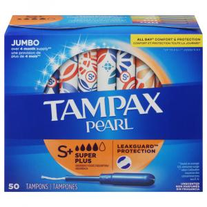 Tampax Pearl Super Plus Tampons