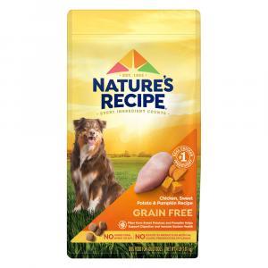 Nature's Recipe Grain Free Chicken, Sweet Potato and Pumpkin