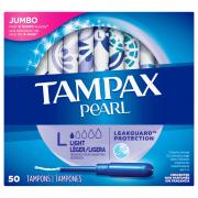 Tampax Pearl Jumbo Light Absorbency