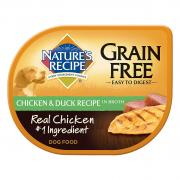 Nature's Recipe Grain Free Chicken & Duck in Broth Dog Food